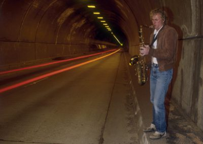 Sax In The Tunnel